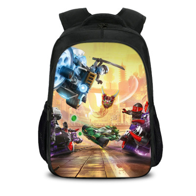 Mochila Children Fashion Cartoon Student Backpack Ninjago Bag Girls Travel Bag Teenagers Boys School Bag #2
