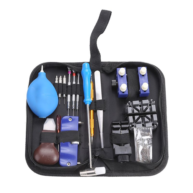 1Set Watch Repair Tool Professional Kit Screwdriver Tweezers Opener Watchmaker D