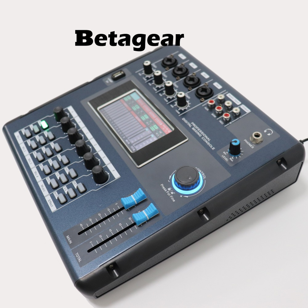 Betagear Screen-Touch M2006 Digital mixer audio mixer audio professionelle mischen konsolen mini sound mixer equipos de musica