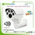 1080 P WI FI 2MP IP PTZ Netwerk Camera Draadloze IPCam Gemotoriseerde Auto focal 6 22mm Zoom lens Onvif RTSP Ingebouwde Microfoon Audio