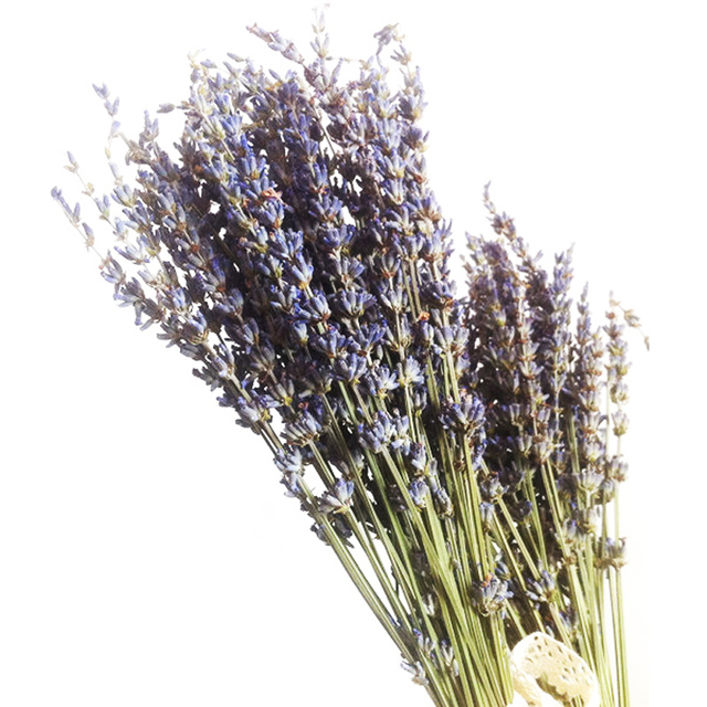 100pcs Bunch Real Natural Lavender Dried Flower Decorative Flowers Bouquet For Wedding Home Decorations Valentine S