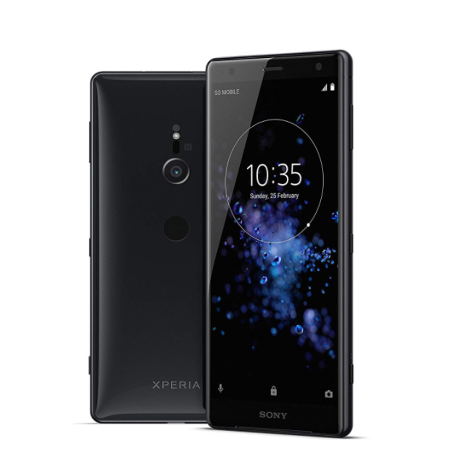 "Original New Sony Xperia XZ2 H8296 LTE Mobile Phone 5.7"" 6GB RAM 64GB ROM Octa Core 3180mAh Android Fingerprint Dual SIM Phone"