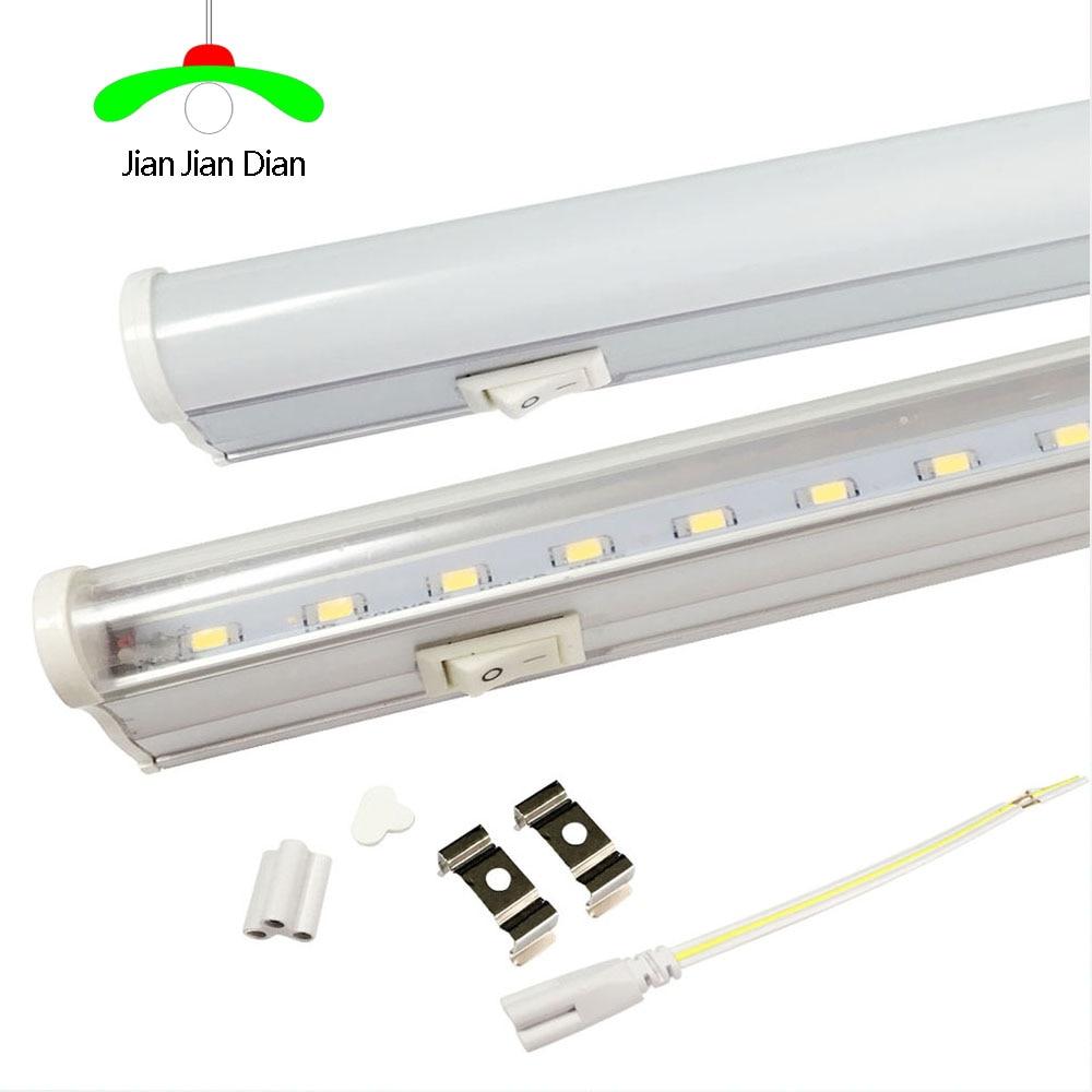 switch t5 led tube light t5 lampada lamp strip light 6w 30cm 10w 60cm led light 110 240v epistar. Black Bedroom Furniture Sets. Home Design Ideas