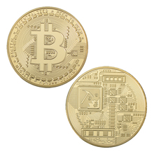 WR Bitcoin Coin Gold Plated Challenge Coin with Quality Gift Box