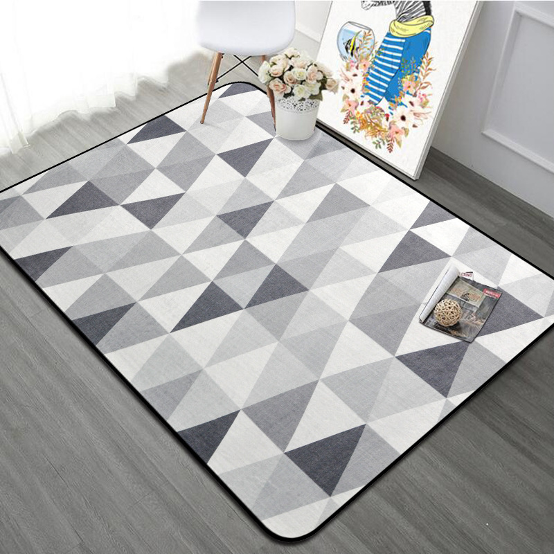 Nordic Grey White Carpet 100x150cm Thicken Soft Kids Room Play Mat Computer Chair Area Rugs Large Carpet For Living Room BedroomNordic Grey White Carpet 100x150cm Thicken Soft Kids Room Play Mat Computer Chair Area Rugs Large Carpet For Living Room Bedroom