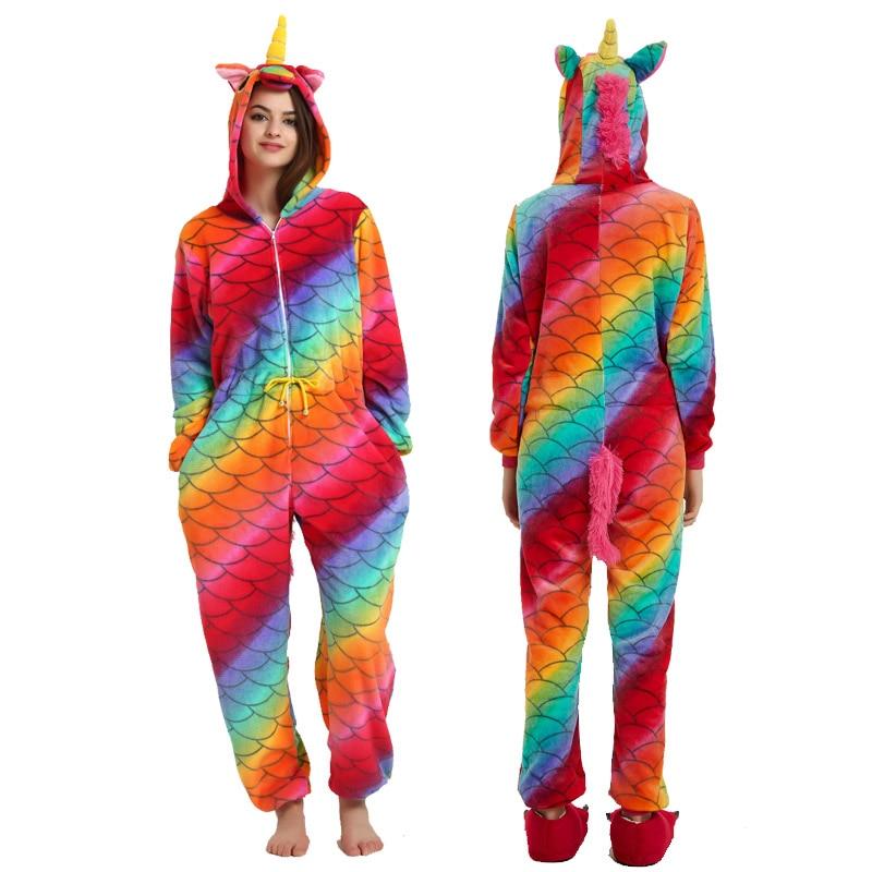 Новые пижамы, женские пижамные комплекты, унисекс, для взрослых, единорог, пижама, кигуруми, животные, пижама, для женщин, фланелевая, домашняя одежда, Пикачу