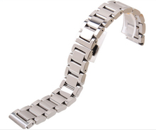 18mm 20mm 22mm 24mm New Man s Pure Solid links Stainless Steel Watch Bands Strap bracelets
