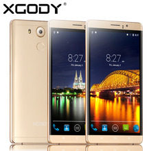 XGODY Android Phone 5.1 Unlocked 6 «QHD Экран Quad Core RAM 512 МБ + 4 ГБ ROM Смартфон Телефон С 5.0MP Камера В Наличии