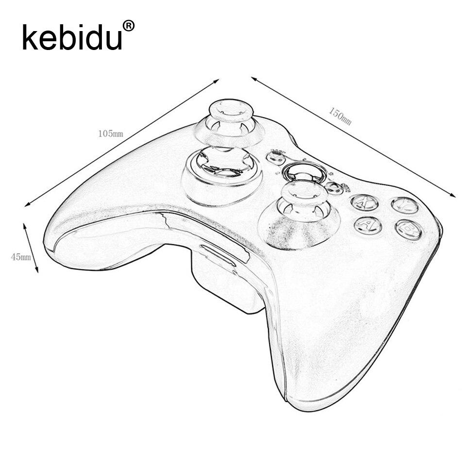 kebidu 2.4G Wireless Remote Gamepad Bluetooth Controller