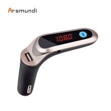 Car MP3 Player Usb Aux TF Handsfree Bluetooth Fm Transmitter