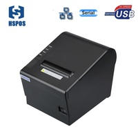 Top sale 3inch Pos Thermal Receipt Printer usb serial lan with cash drawer interface and auto cutter support OPOS Drivers