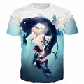 Newest Style Classic Anime Spirited Away tshirts Cartoon Character Ogino Chihiro 3D t shirt Men Women Summer Casual tee shirts