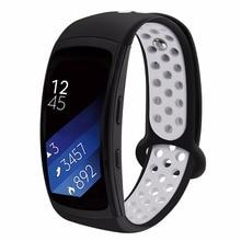 все цены на Watch Band for Samsung Gear Fit2, Silicone Bracelet Wrist Strap Replacement Sport Band for Samsung Gear Fit 2 SM-R360/Fit2 Pro онлайн