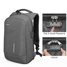 2019 Men Travel Backpack Large Capacity Male Business Bag Anti-thief Pocket USB Charging 13.3