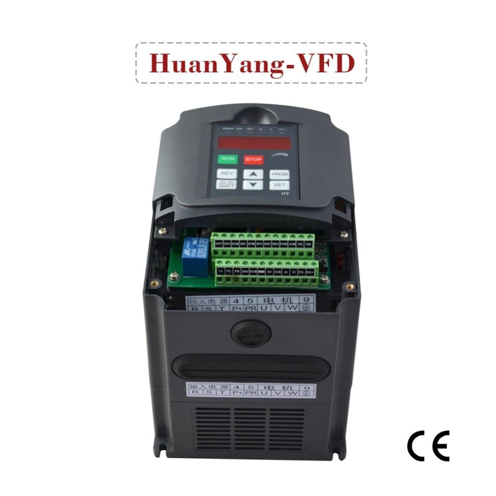 купить frequency inverter 220V 5.5KW variable frequency drive inverter VFD inverter motor speed controller по цене 15896.36 рублей