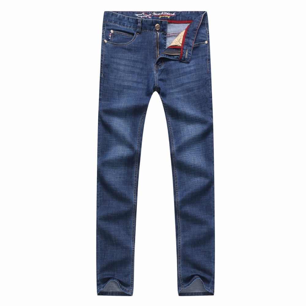 43df1e2a87b ... Джинсы мужские брендовые летние мужские с вышивкой мужские джинсы  хлопок Billionaire 2018 джинсы мужские стрейч размер ...