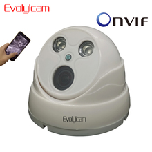 Evolylcam 720P 1MP 960P 1 3MP Wide Angle Fisheye IP Camera Optional Audio POE SD Card