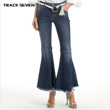 76ad38e3d1b Women s Skinny Jeans Flared Jeans High Waisted Trousers Push Up Jeans  Office Lady Style Jeans Female