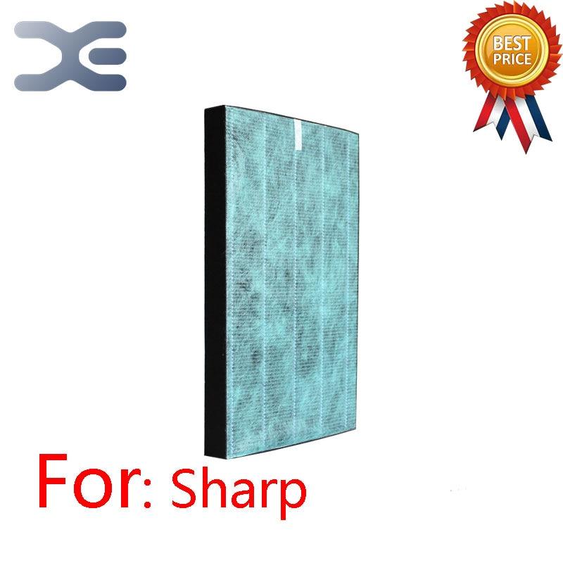 Adaptation For Sharp Efficient HEPA Dust Filter FZ-280HFS Purifier KC-W280/Z280/C100 Air Purifier Parts adaptation for sanyo air purifier parts abc vw24 dust hepa filter abc fah94