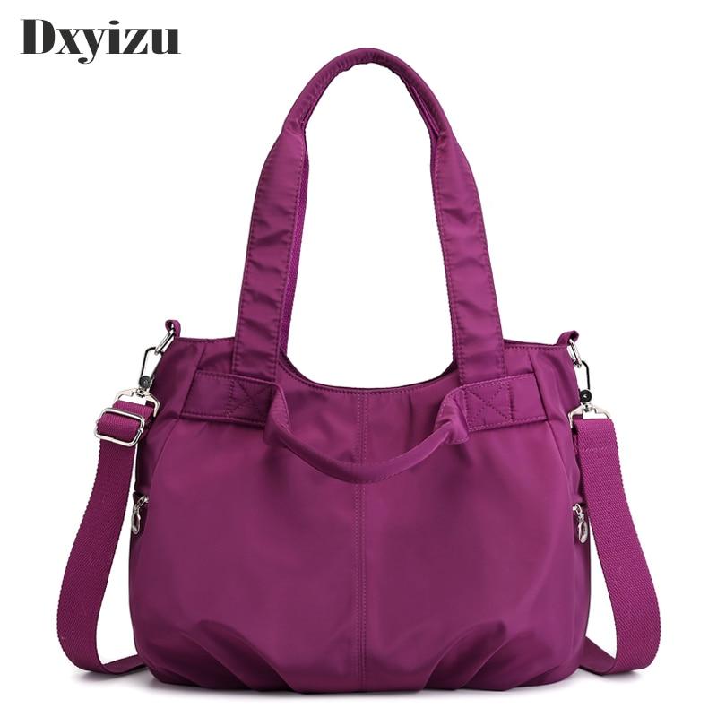 Large Capacity Handbags Casual Messenger Bag Good Quality Travel Waterproof Crossbody Bags For Women Top-handle Shoulder Tote