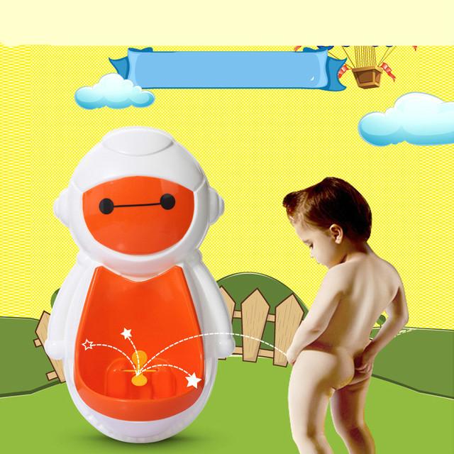Venda quente Do Bebê Meninos Crianças Pé Mictório Mictório Pendurado Na Parede Wc Meninos Potty Higiênico Otário Parede Portátil Potties C01