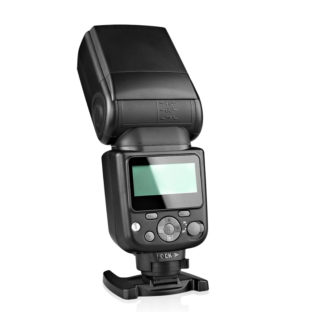 Meike MK930II MK-930 II MK 930 II Speedlite Flash 8 Brightness Control Flash for Nikon Canon Fuji Olympus Panasonic DSLR Camera