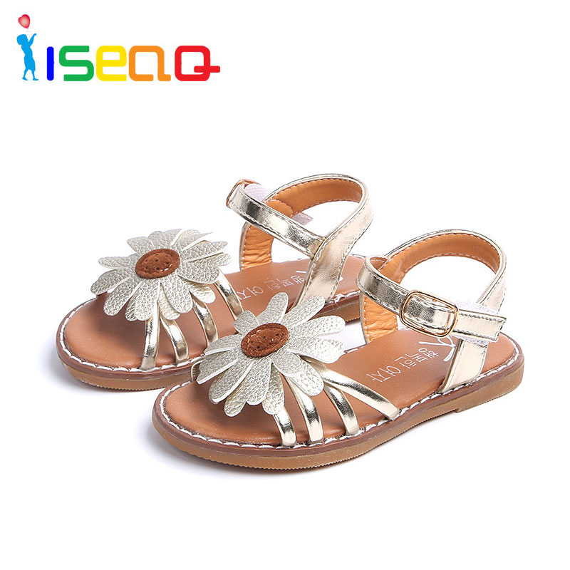 girls sandals children and baby fashion shoes for Princess child girl EUR 21-36