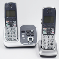 2 Handsets KX TG7731S Digital wireless telephone DECT 6.0 Link to Cell via Bluetooth Cordless telephone with Answering system