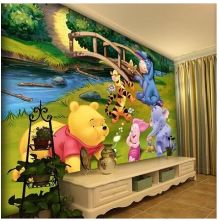Buy mural children room cartoon tv for Creation mural kids