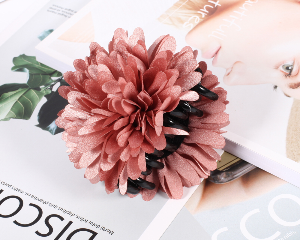 2017 Hot New Large Hair Claw Flower Beautiful Elegant