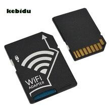 Kebidu MINI Mikro TF Dönüştürücü Wifi SD Kart Adaptörü Için Yüksek Kalite Nikon Kameralar Fotoğraf Kablosuz iletim Için SONY Için canon