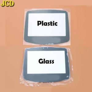 Image 2 - JCD 1 個プラスチックガラススクリーンのための GBA ゲームボーイアドバンス用レンズ W/ adhensive