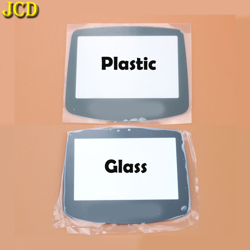 Image 2 - JCD 1Pcs Plastic Glass Screen Lens cover For GBA Screen Glass Lens for Gameboy Advance Lens Protector W/ Adhensive-in Replacement Parts & Accessories from Consumer Electronics