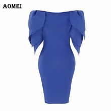 Women Dress Layers Sleeves Slim Office Lady Fashion Package
