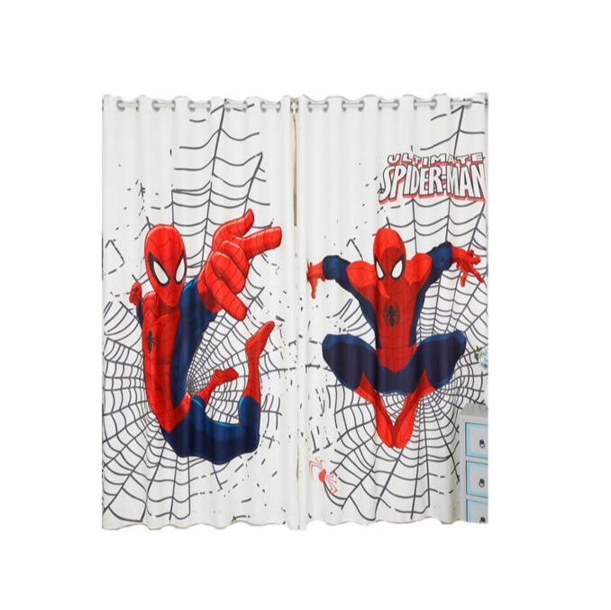 Spider Man Curtains Short Curtains Boys Bedroom Curtains Trueyogaevergreen Com