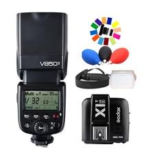 Godox V850II GN60 w/ Li-ion Battery 2.4G Wirless X System Speedlite Flash + X1T-S Trigger Transmitter for Sony