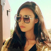 Vazrobe Vintage Hexagonal Sunglasses Women Retro Female Sunglass Steam Punk Sun Glasses For Woman Brand Designer