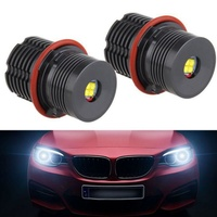 2018 New Car Lights 2PCS E39 40W For BMW Angel Eye Headlights Tools 5.23 Car Light Novelty Lighting