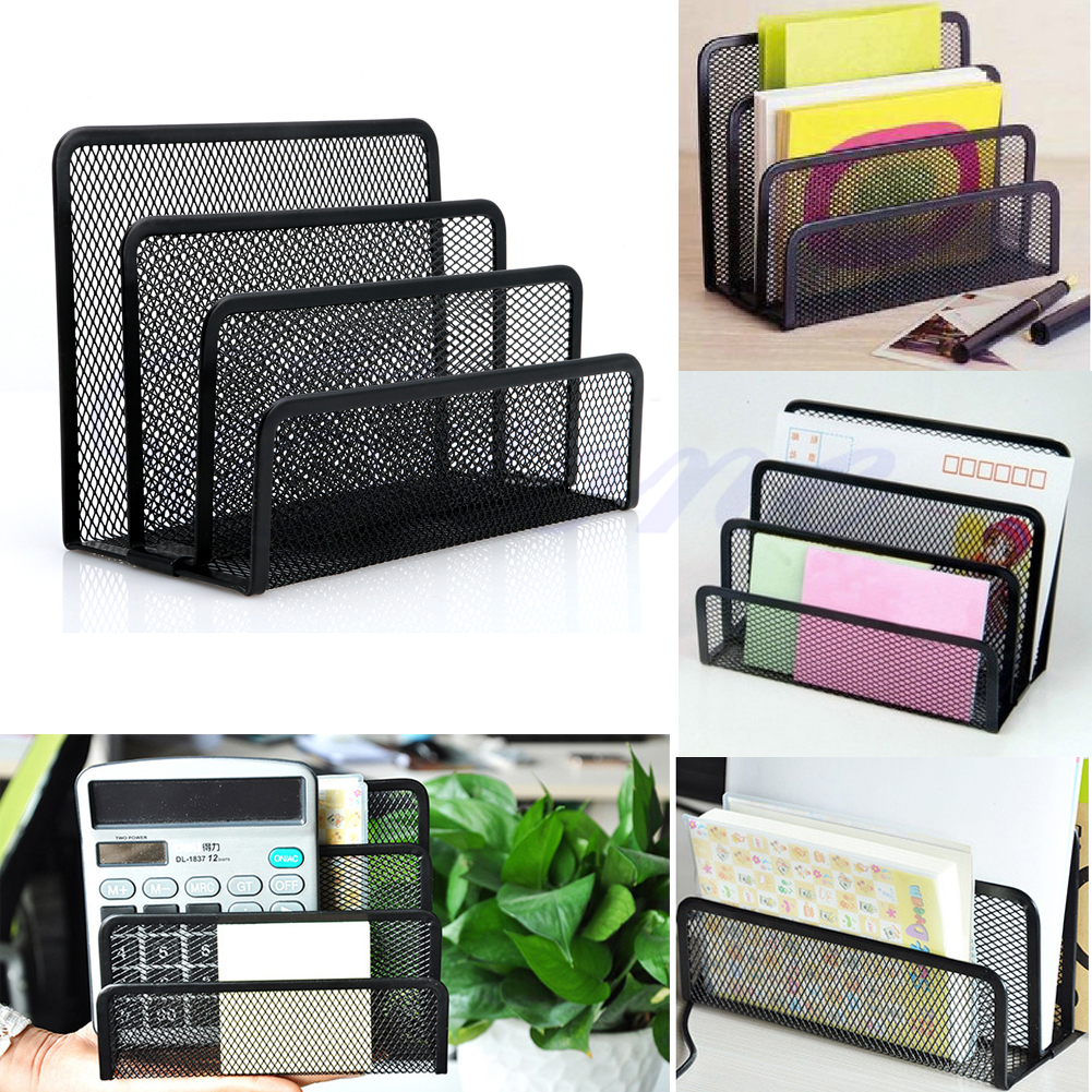 Black Document Desk Mesh Letter Sorter Mail Tray Office File Organiser Business kitqua37798saf7751gr value kit quality park clasp envelope qua37798 and safco e z sort steel mail sorter module saf7751gr