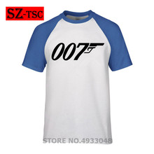 007 Legend Bond T Shirt Funny letter I dont get older level up T-Shirt Mens Printed Tee Loose Short Sleeve James Tshirt