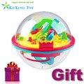 100 Pasos 3D puzzle Bola Bola Mágica Intelecto con el regalo de juguetes educativos Rompecabezas Equilibrio Lógico Capacidad de Juego Para Niños y adultos