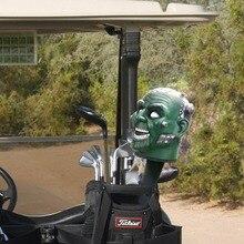 Mới Câu Lạc Bộ Golf Driver Headcover Tấm Bảo Vệ Có Cá Tính Đầu Lâu Golf Headcover Miễn Phí Vận Chuyển