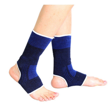 2Pcs=1Pair Ankle Protector Pedicure Socks Ankle Foot Elastic Compression Sleeve