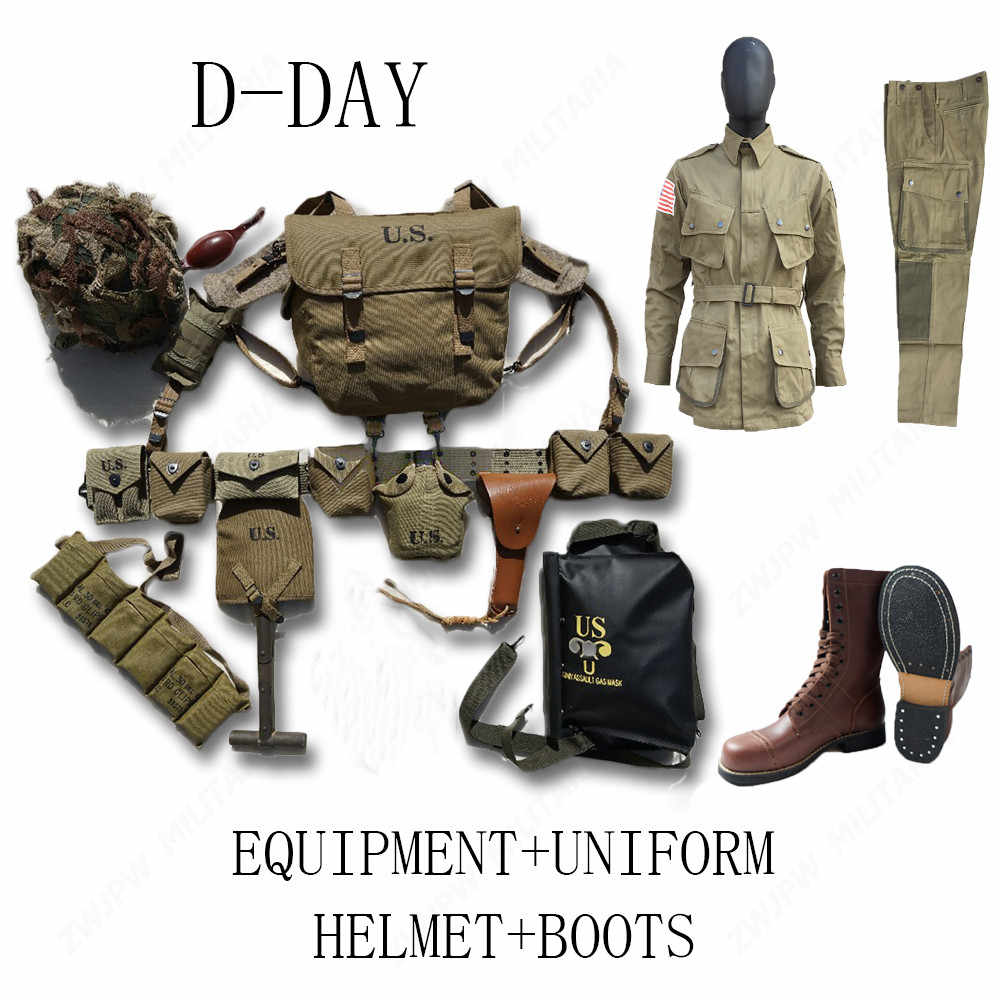 WW2 US BAND OF BROTHERS 101 AIRBORNE SET PARATROOPER SUITS