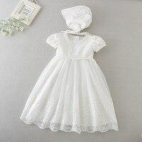 White Dresses for Girl Baptism Baby Girl Clothing 1 Year Birthday Party Toddler Christening Gown Infant Girl Dress