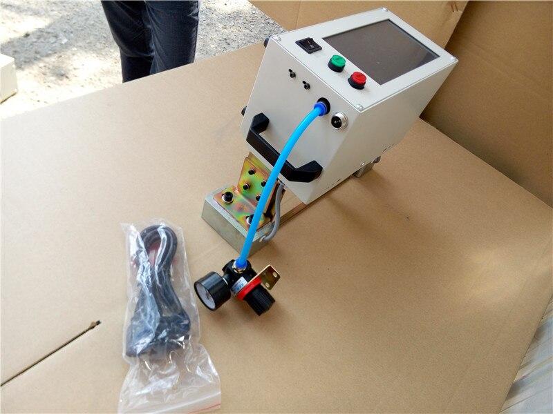 Tout en CNC Pneumatique À Broches En Métal Plaque Signalétique Machine de Marquage pour les Pièces Métalliques numérique routeur machine de marquage pneumatique pour l'acier - 2