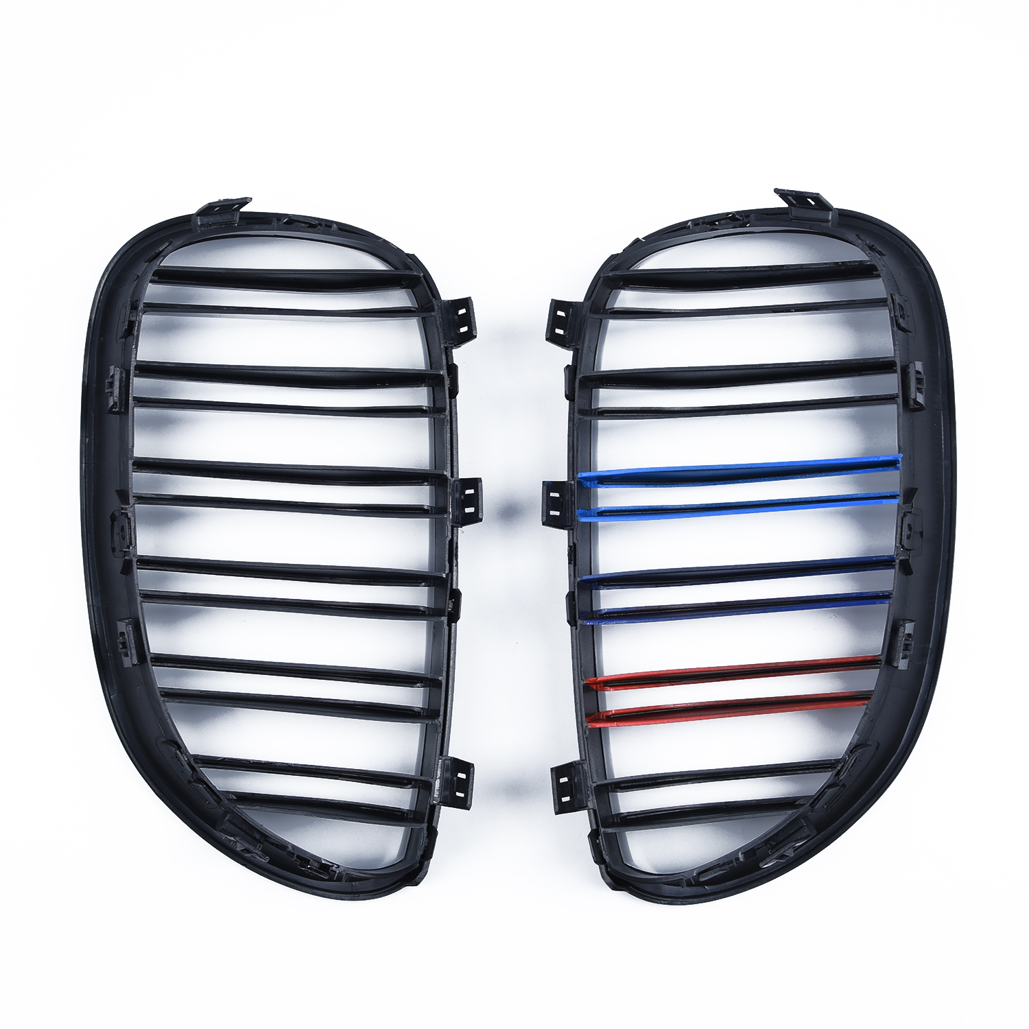 Left Grilles Front Kidney for <font><b>BMW</b></font> <font><b>E60</b></font> E61 2003-2010 <font><b>5</b></font> <font><b>Series</b></font> Replacement 33*18*<font><b>5</b></font>.9cm 1 Pair image