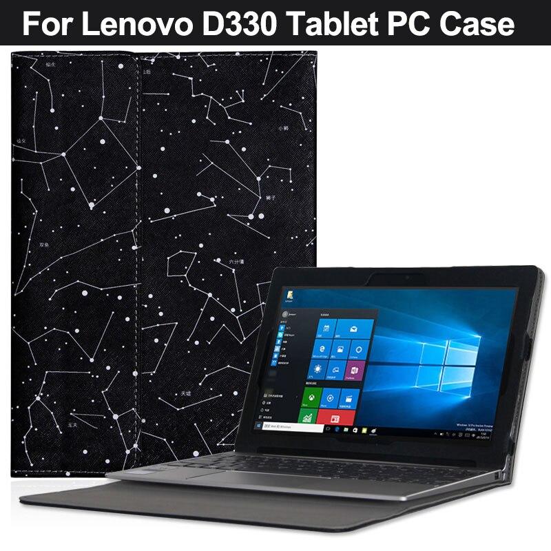 Original PU Case Cover For  Lenovo D330 10.1 Inch Tablet Pc For  Lenovo D330 Case Bag Cover