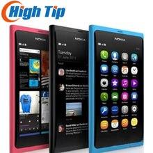 Nokia-teléfono móvil N9 original renovado, pantalla táctil, 3G, WIFI, cámara de 8MP, Envío Gratis, 1 año de garantía