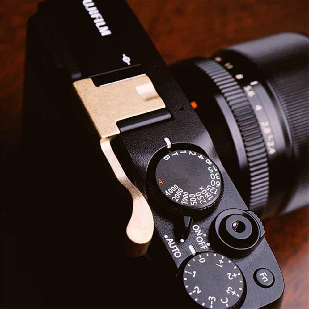 Hot Shoe Handle for Fuji X-E1 Silver Durable